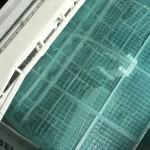 冬の暖房、エアコンを使う前に、意外な物でフィルター掃除