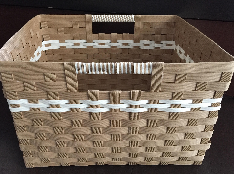 カラーボックスにぴったりのエコクラフト収納ボックス