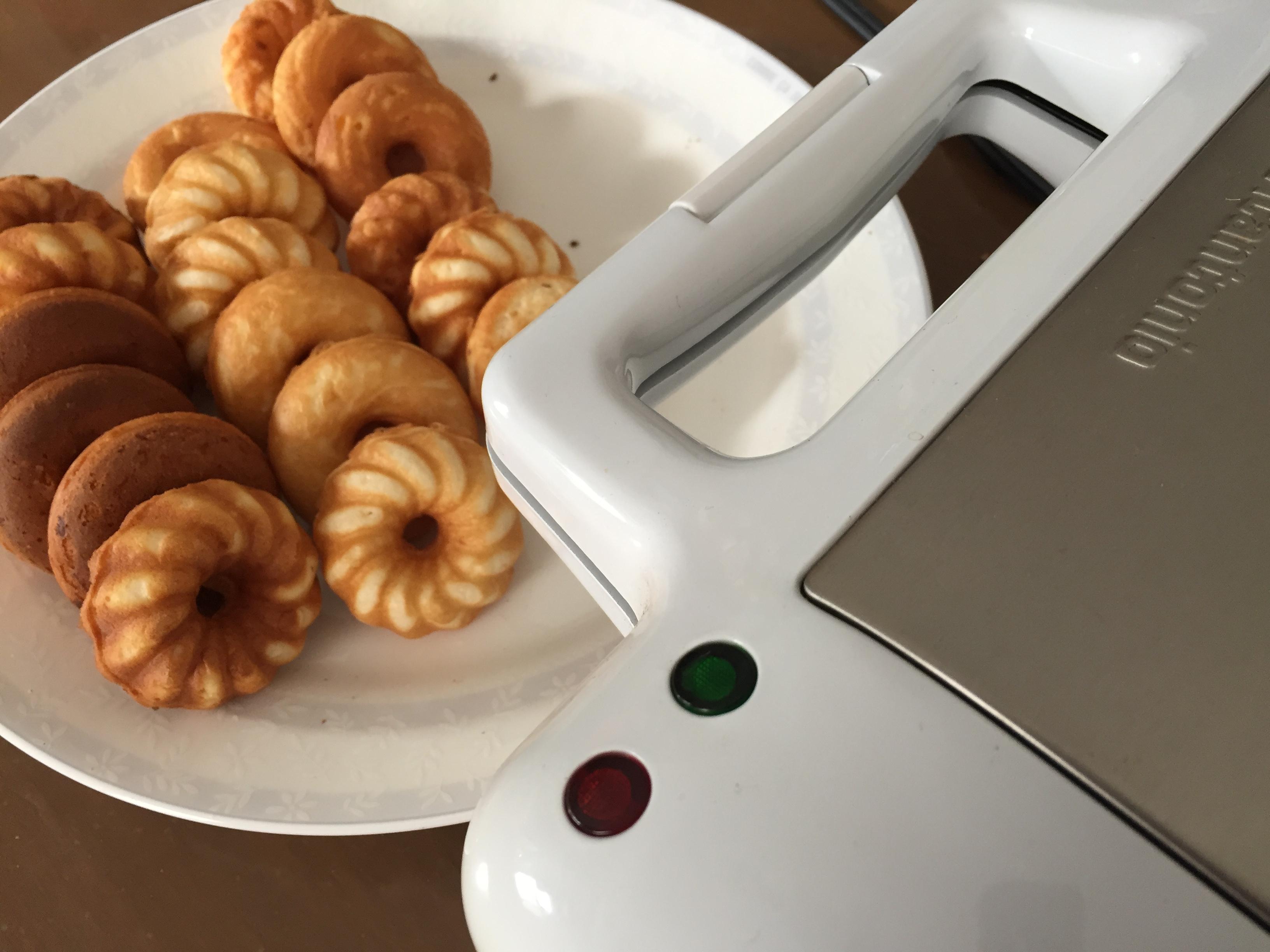 ビタントニオでドーナツ作り