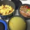 チキンライスとコーンスープで寒い冬にも負けないお弁当