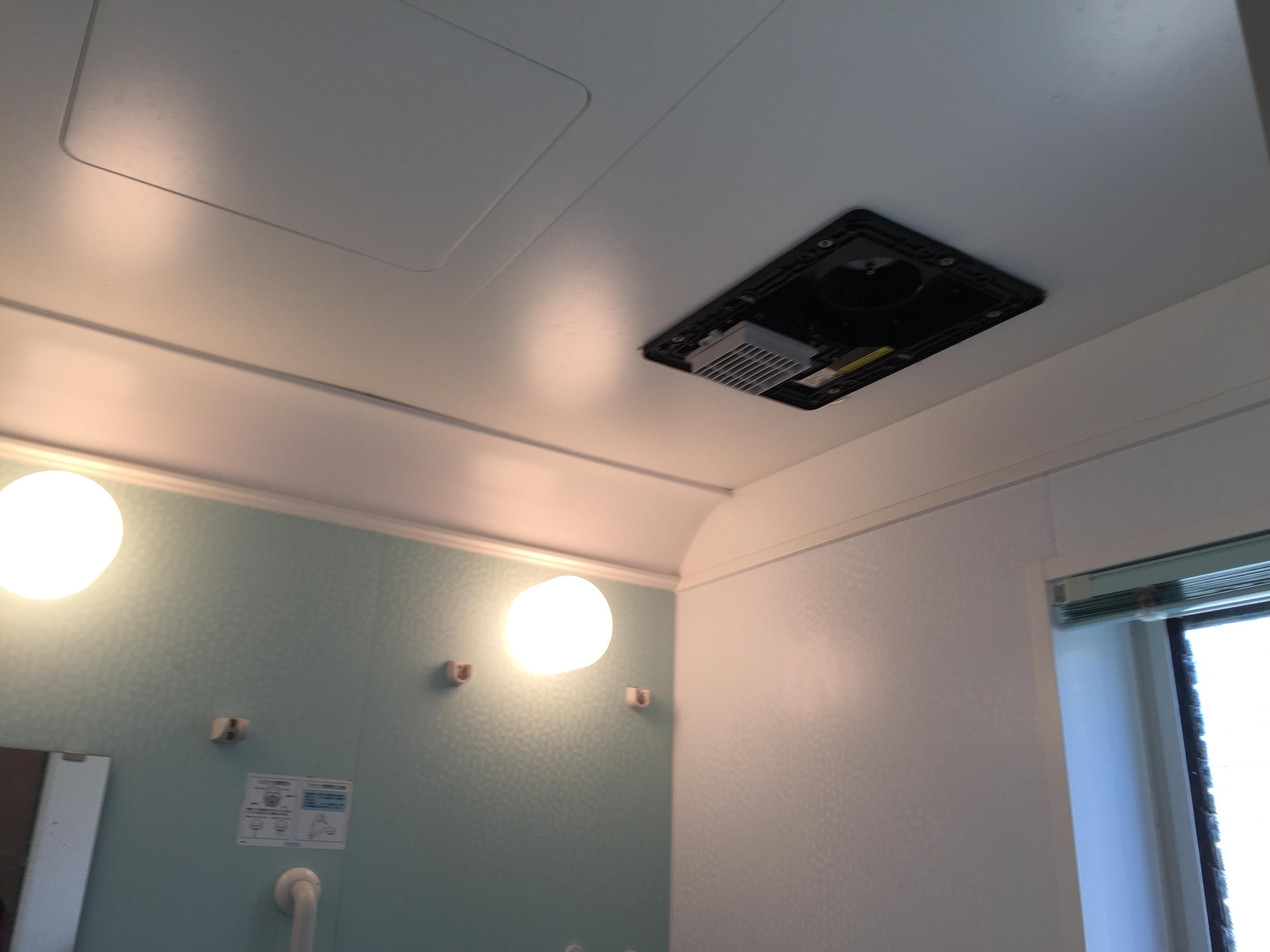TOTO浴室換気暖房乾燥機の故障と修理に掛かる費用