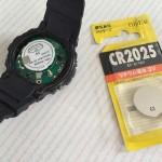 子供の腕時計の電池交換を自分でやってみた