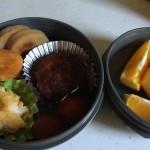 週末恒例のお弁当と東京土産のソラカラちゃん