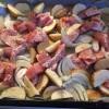 10分で準備完了チキンと野菜のオーブン焼き
