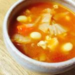 栄養満点具だくさんスープ 息子の好きなミネストローネ