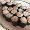 100均の寿司型で細巻き寿司
